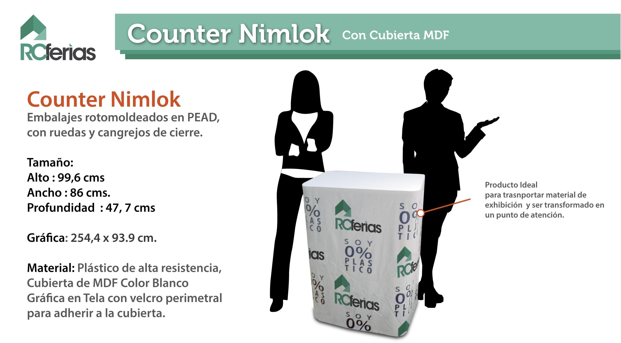 Counters Rcferias # Muebles Rotomoldeados