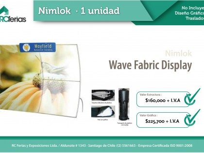 Wave Fabric Display