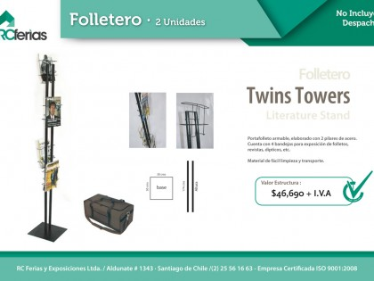 Folletero Twins Towers