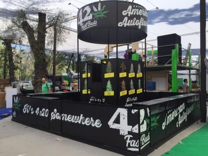 CANNABIS CLUB SPA Stand FAST BUDS  – 7ª. EXPO WEED 2018